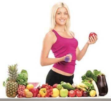 athletic-girl-with-natural-food